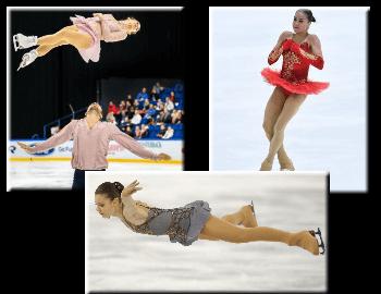 Figure skating jumps